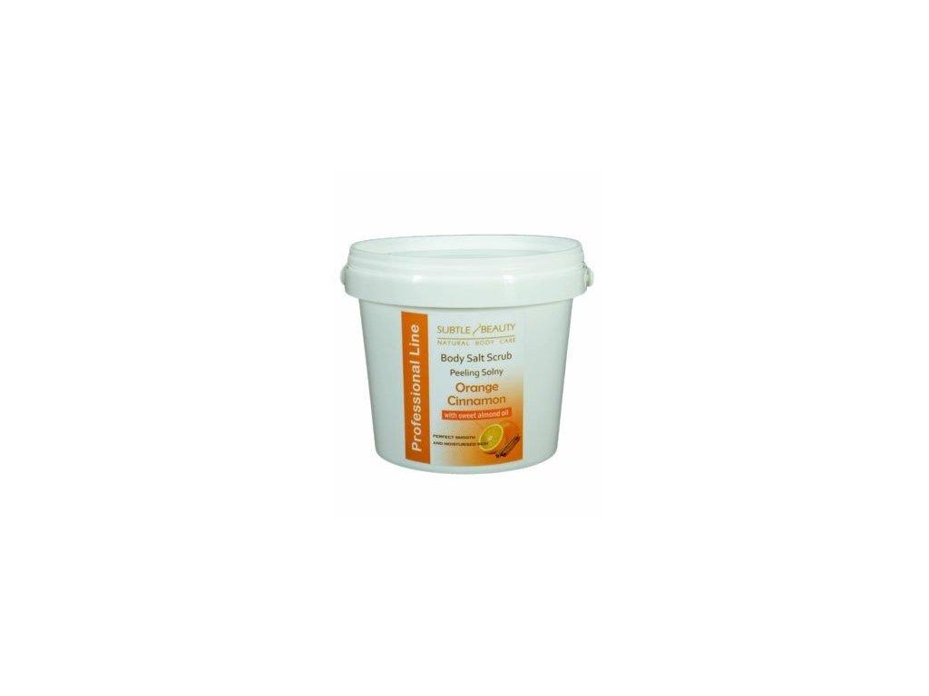 Peelingová sůl Pomeranč a Skořice, 1kg