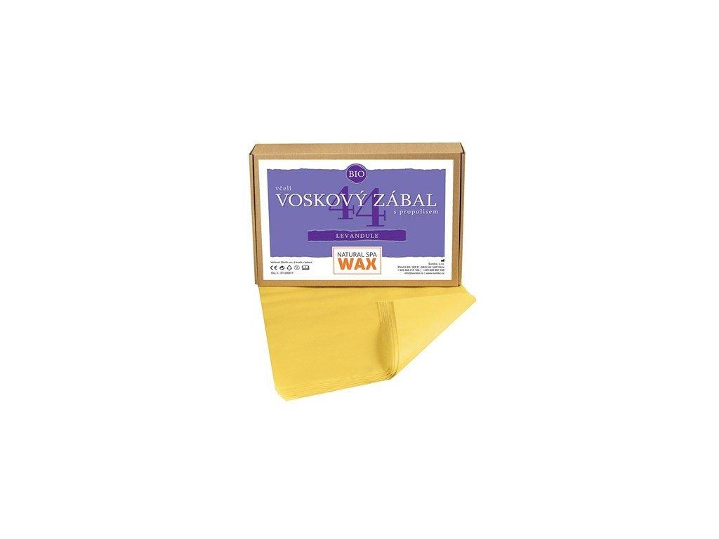 Přírodní voskový zábal - Levandule