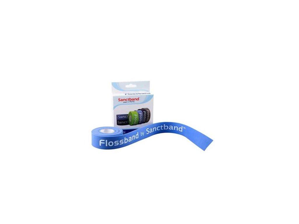 SanctBand Flossband kompresní guma 2,5cmx2m střední