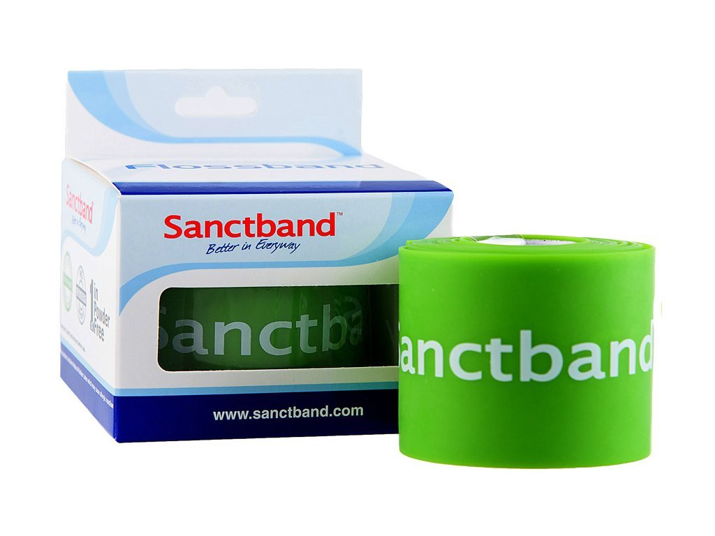 SanctBand Flossband kompresní guma 5cmx2m slabá