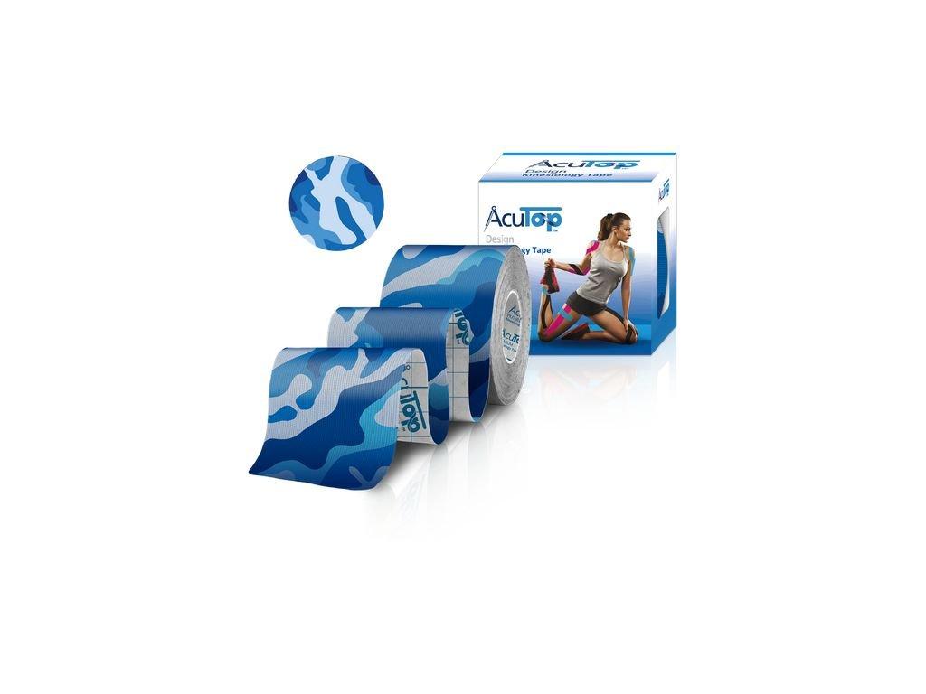 Wellea AcuTop design tape modrý maskáč