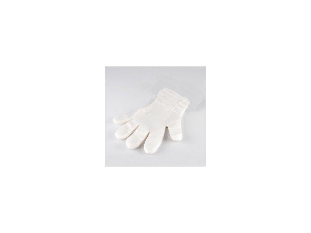 Jednorázové rukavice na parafín
