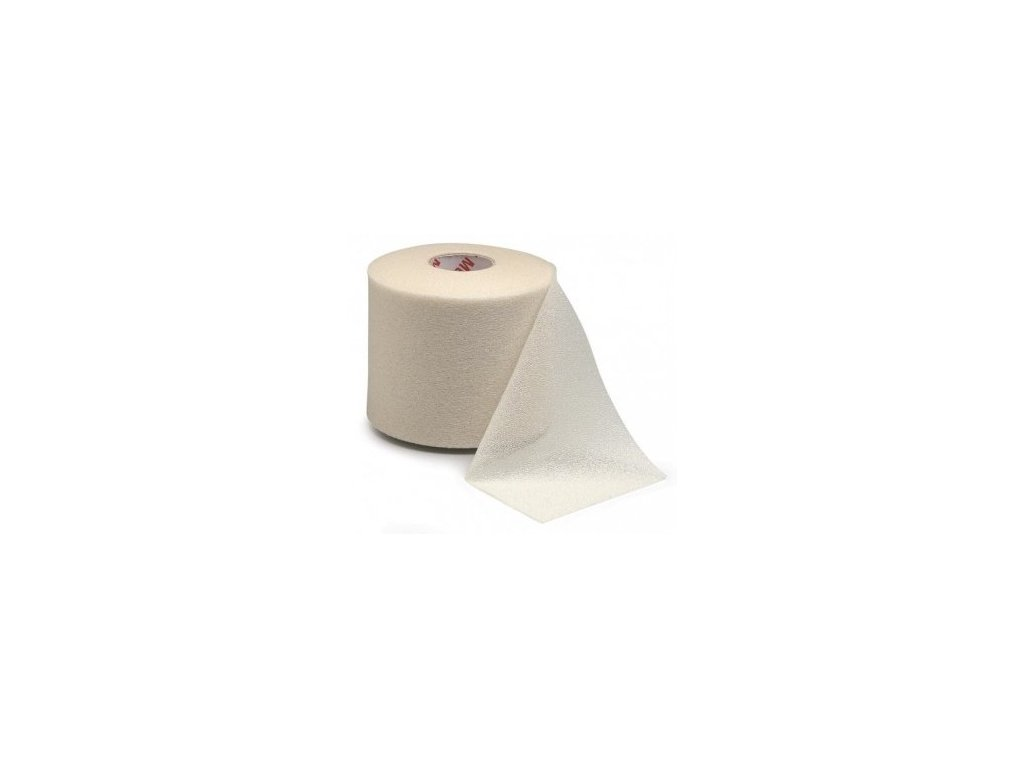 MUELLER MWrap® Colored, podtejpovací molitanová páska béžová 7cm x 27,4m