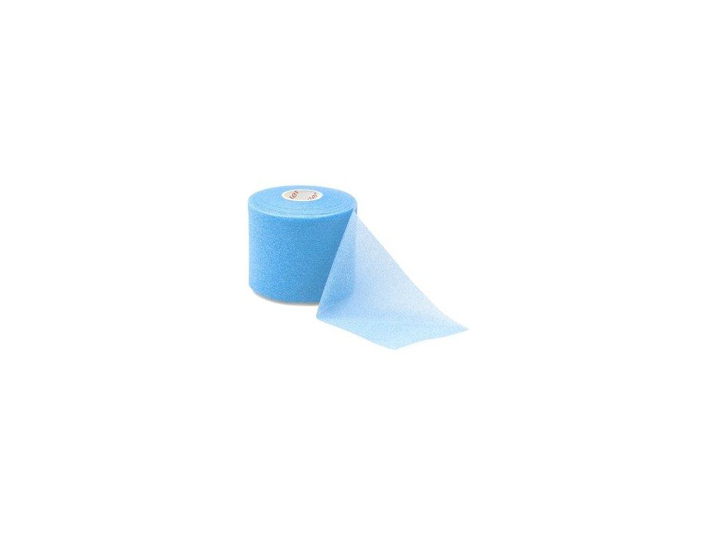 MUELLER MWrap® Colored, podtejpovací molitanová páska světle modrá 7cm x 27,4m
