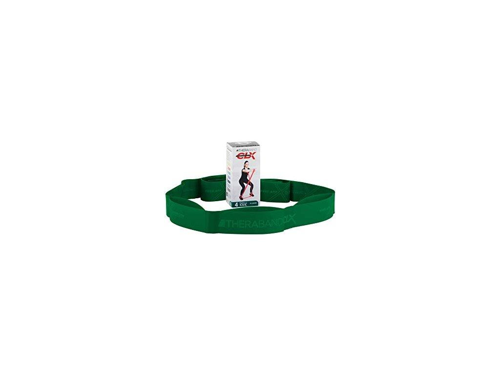 CLX Thera-Band - posilovací guma, zelená