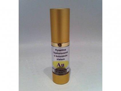 Kyselina Hyaluronová 100% pure s koloidním zlatem 18 ml