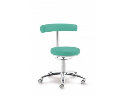 Zdravotnická stolička s oporou zad 1280
