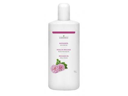 cosiMed masážní olej Divoká růže - 1000 ml