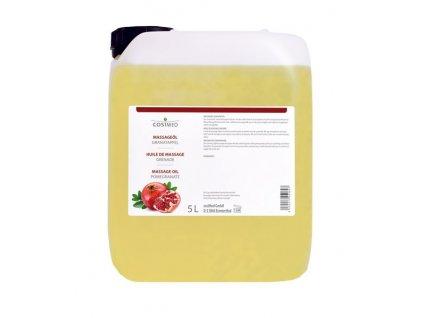 cosiMed masážní olej Granátové jablko - 5000 ml