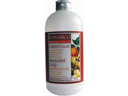 Botanico orientální masážní olej - 500ml
