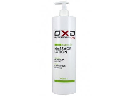 OXD masážní emulze Avokádo - 1000 ml
