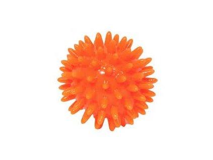 THERA-BAND masážní míček ježek, 6 cm, oranžový