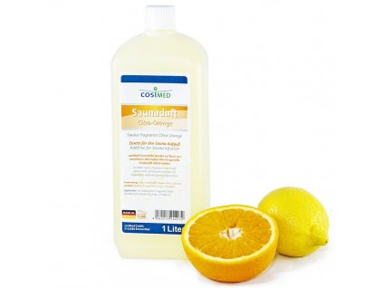 cosiMed esence do sauny Citron a Pomeranč - 1000 ml
