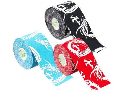 Nasara kinesiology tape Dragon, tejpovací páska