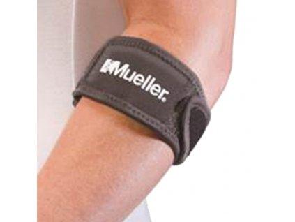 6733 MUELLER Adjust to fit tennis elbow support pásek na tenisový loket s gelovým polštářkem welleaCZ