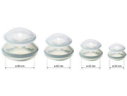 Set silikonových baněk