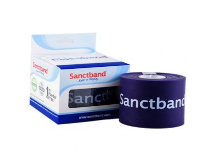 SanctBand Flossband kompresní guma 5cmx5m silná