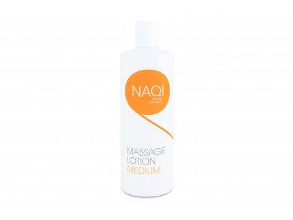 NAQI masážní emulze Medium - masážní emulze bez parafínu 500ml