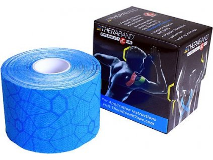 TheraBand™ Kinesiology Tape, modrá 5cm x 5m