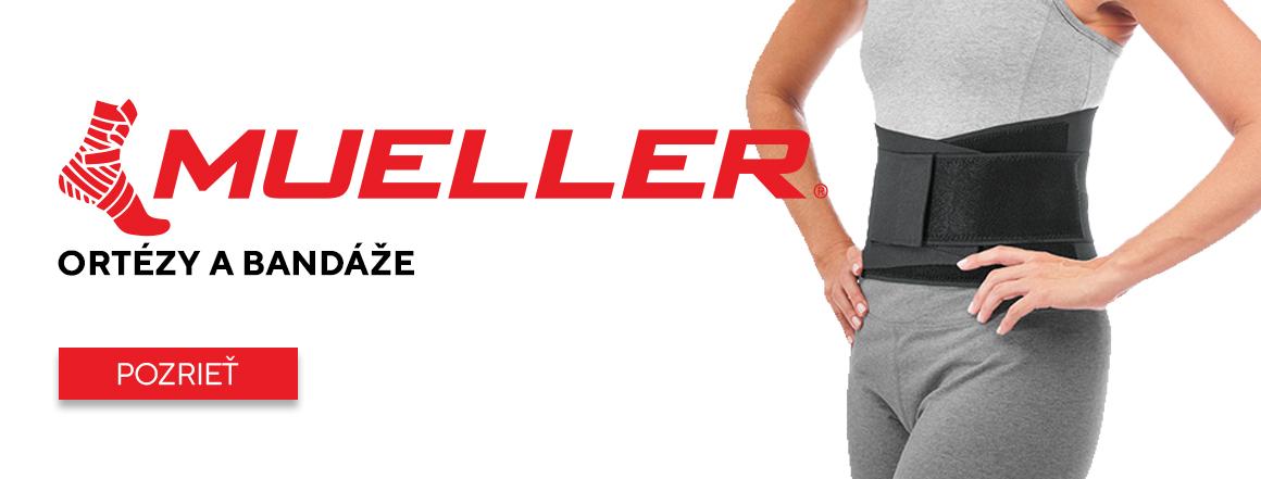 Mueller Sport Medicine - športujte bezpečne a bez bolesti!