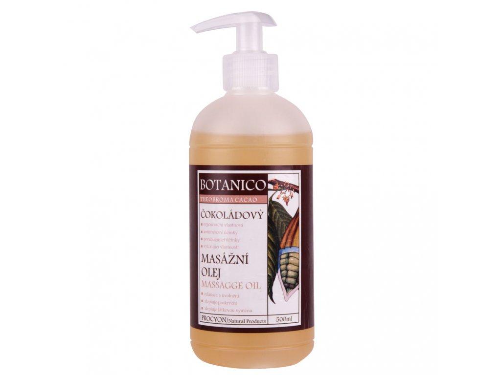 Botanico čokoládový masážny olej 500 ml