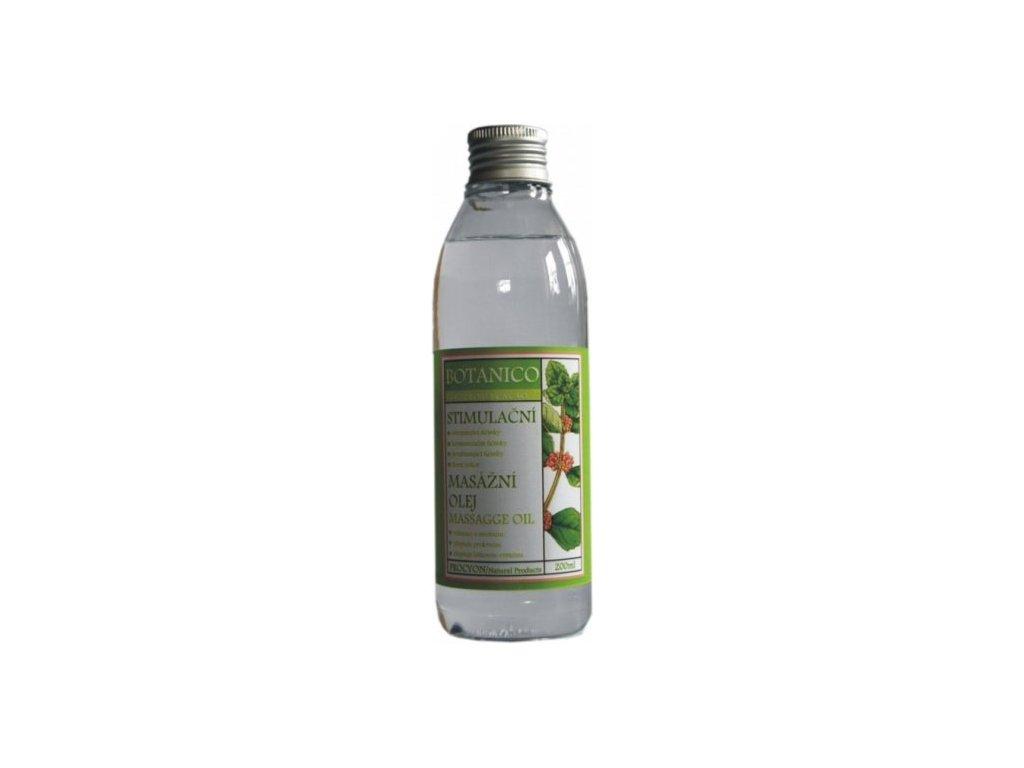 Botanico stimulačný masážny olej 200ml