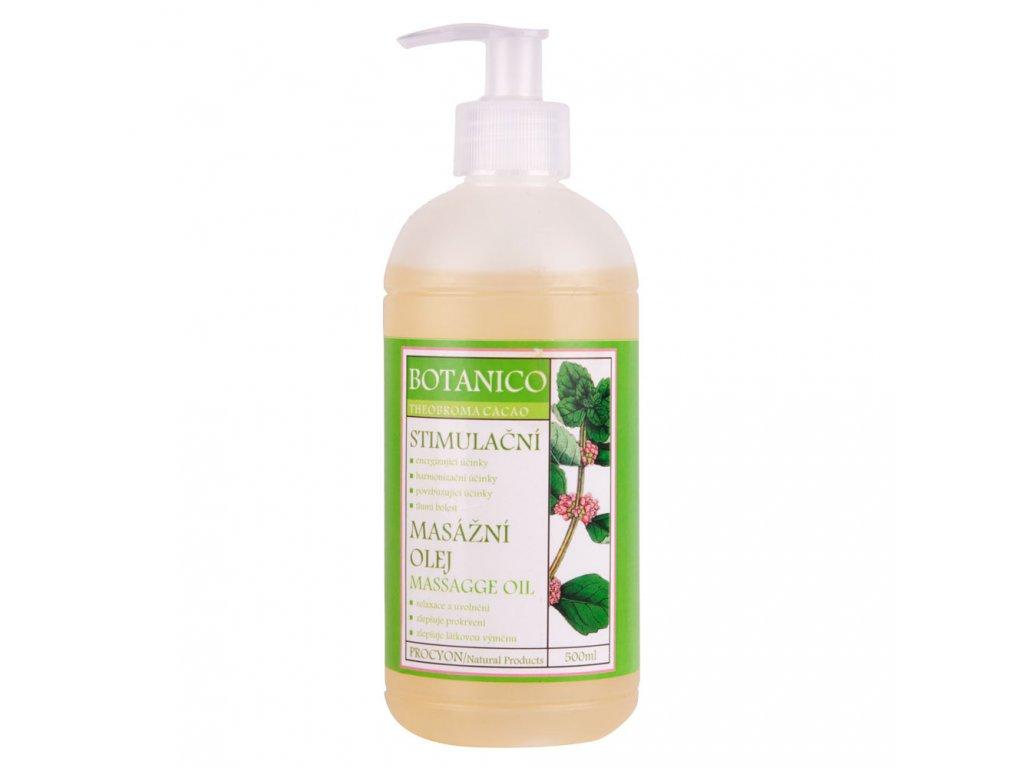 Botanico stimulačný masážny olej 500ml