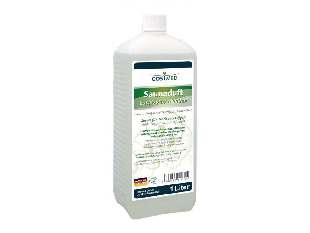 cosiMed esencia do sauny Eukalyptus a Mentol - 1000 ml