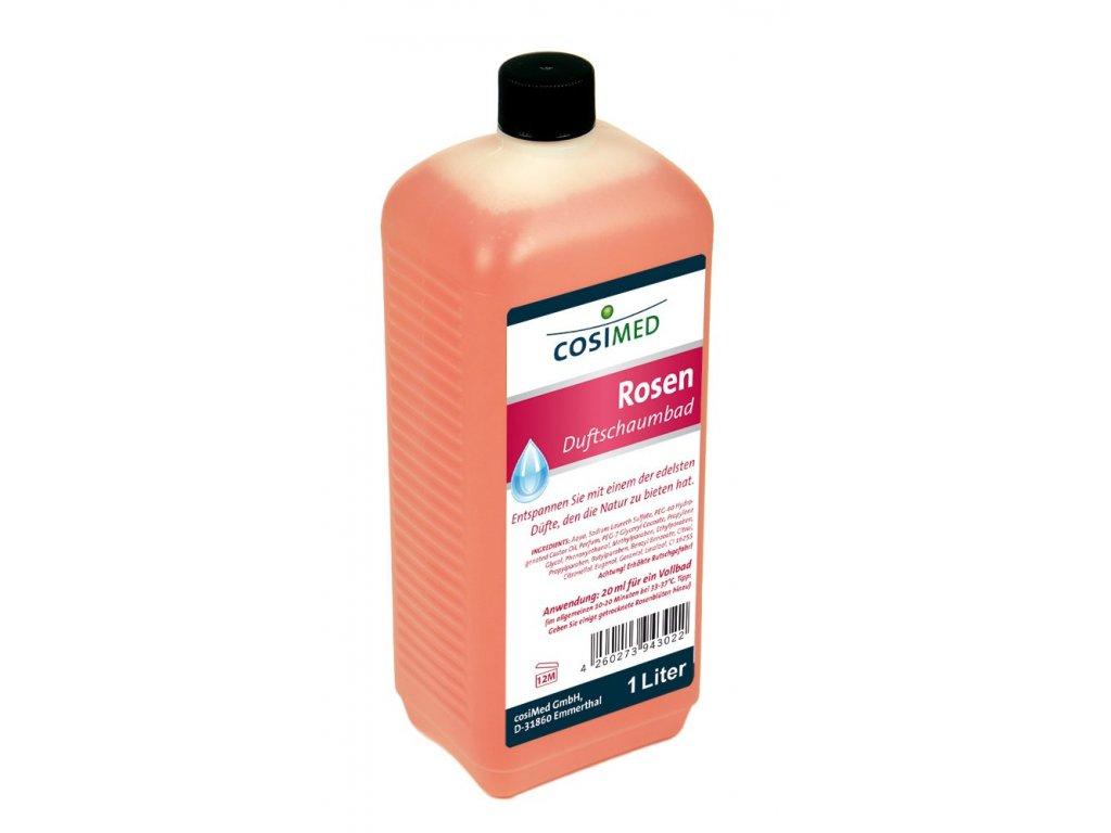 cosiMed kúpeľová pena s vôňou ruží - 1000 ml