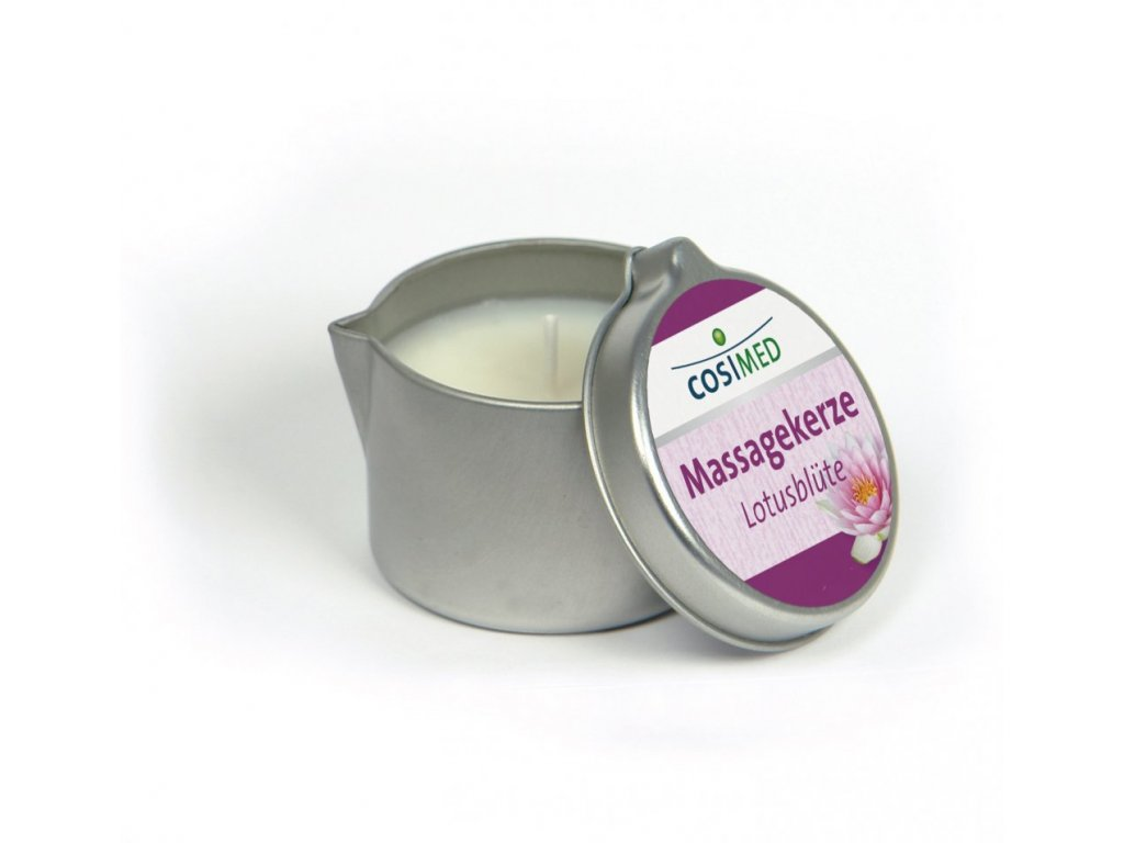 cosiMed masážna sviečka Lotosový kvet - 40 g