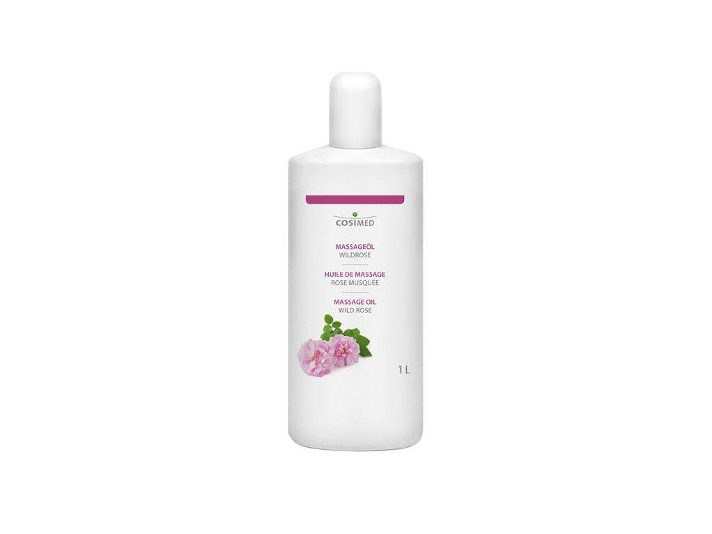 cosiMed masážny olej Divoká ruža - 1000 ml