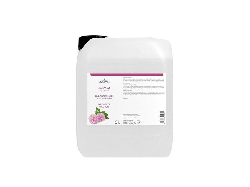 cosiMed masážny olej Divoká ruža - 5000 ml