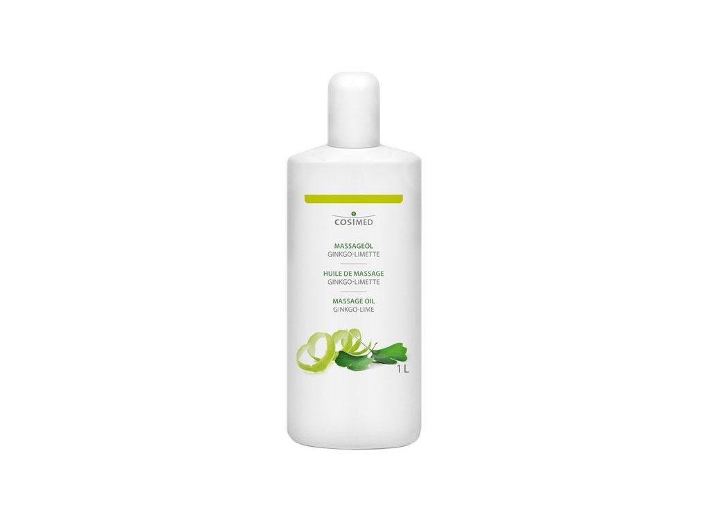 cosiMed masážny olej Ginkgo-Limetka - 1000 ml
