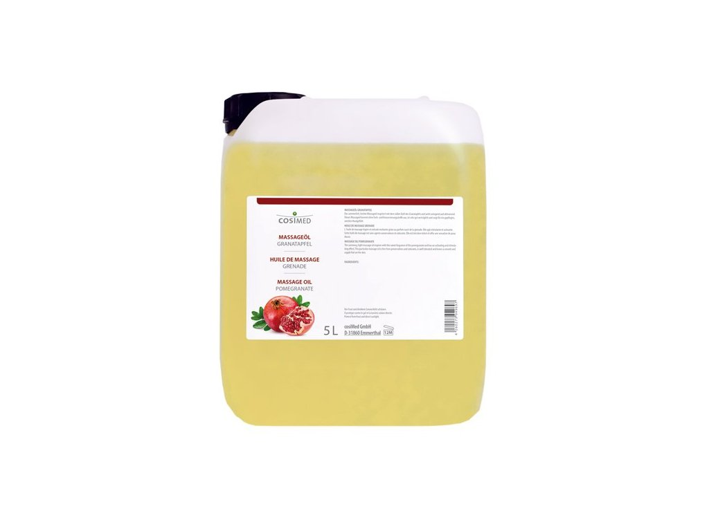 cosiMed masážny olej Granátové jablko - 5000 ml