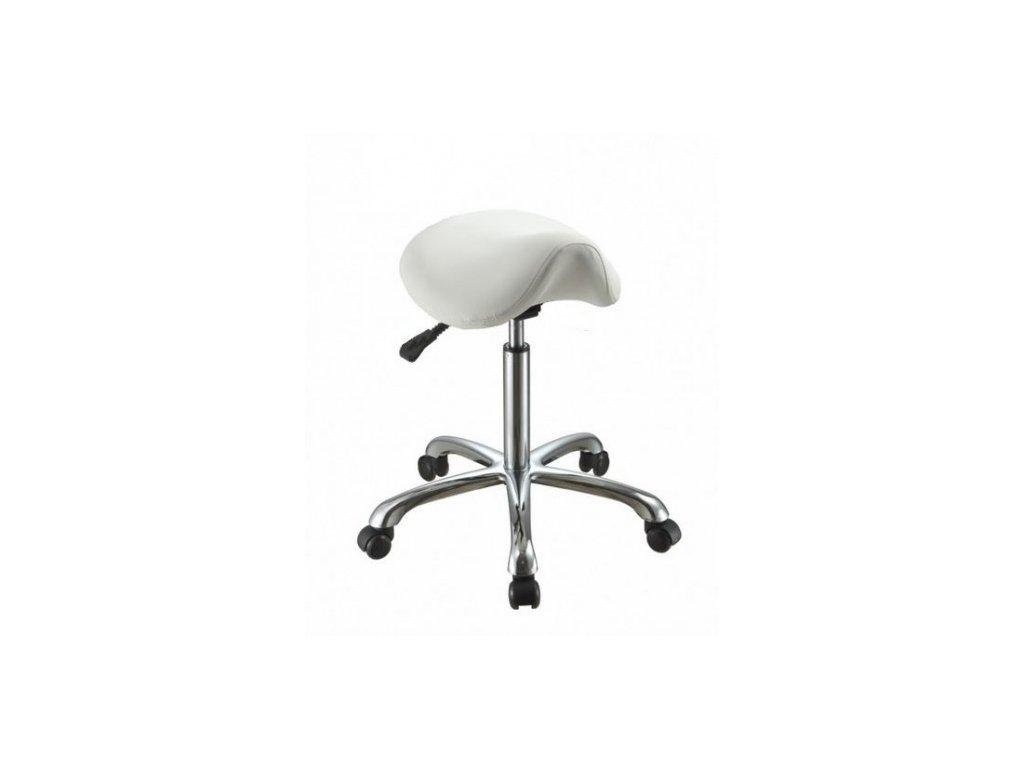 židle se sedlovým sedákem
