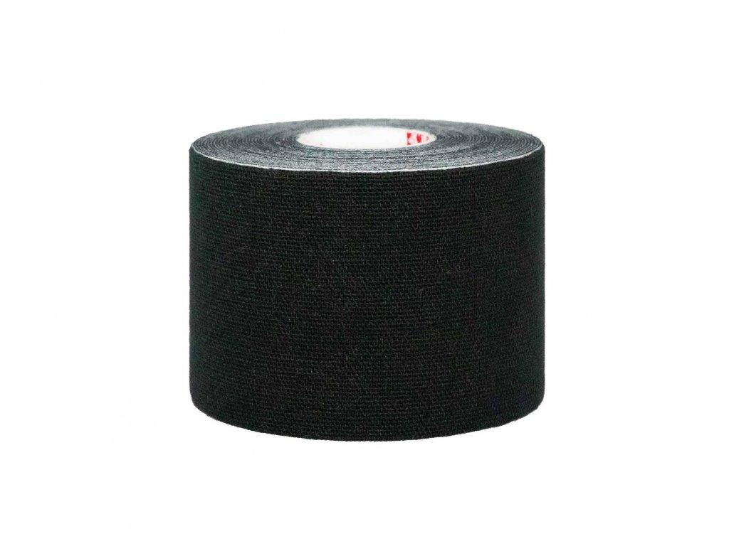 Mueller Kinesiology Tape, čierna tejpovacia páska, 5 cm x 5 m