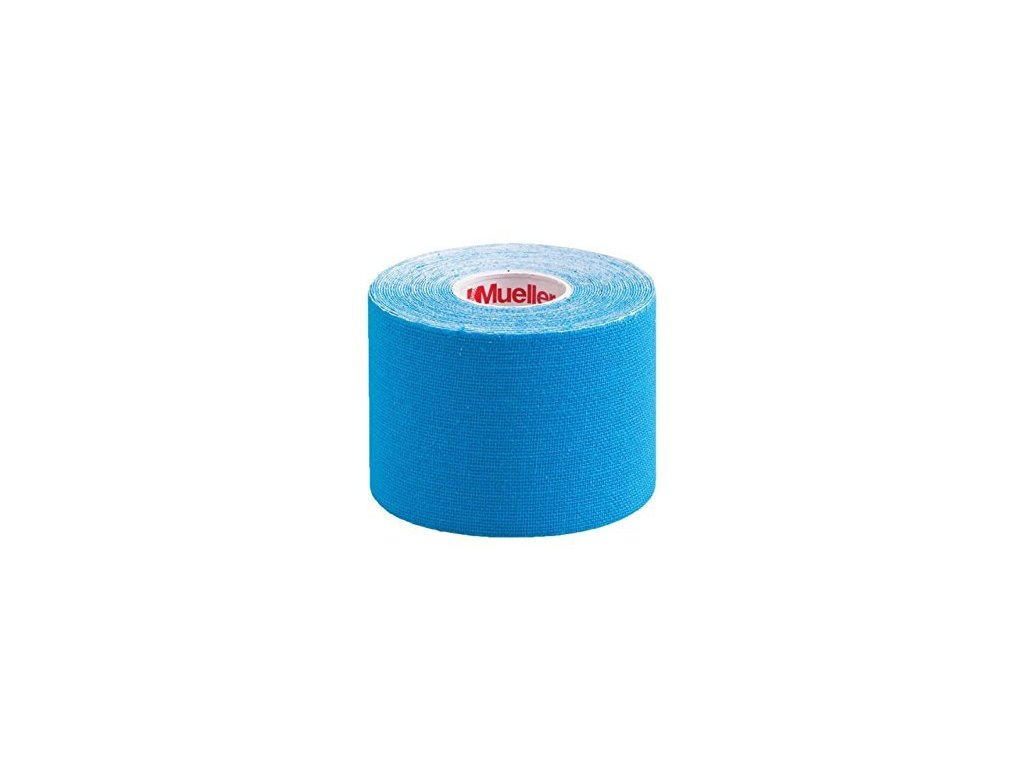 Mueller Kinesiology Tape, modrá tejpovacia páska, 5 cm x 5 m