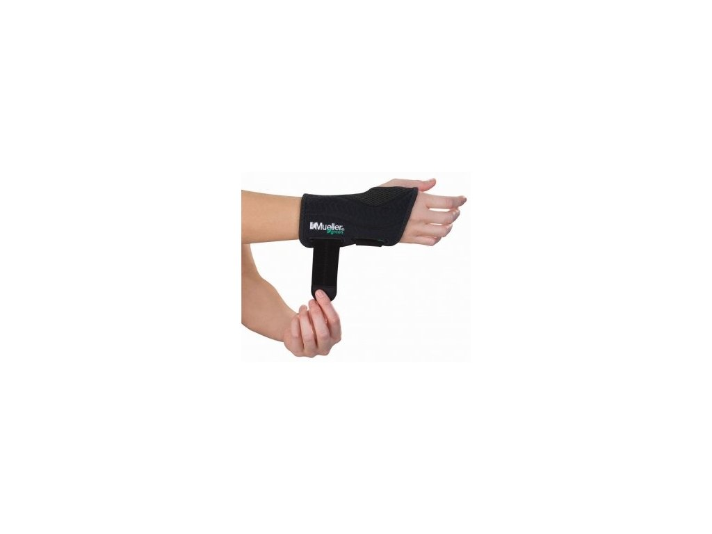 MUELLER® Green, Fitted Wrist Brace, ortéza na zápästie