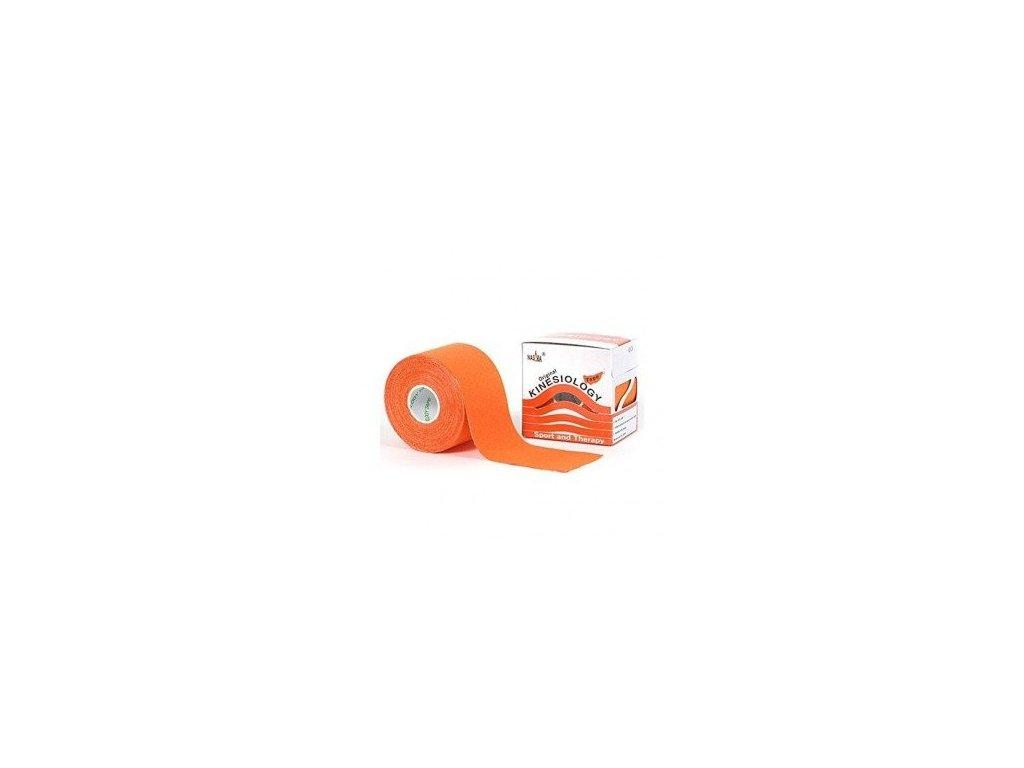 NASARA kinesio tape, oranžová tejpovacia páska 5cm x 5m