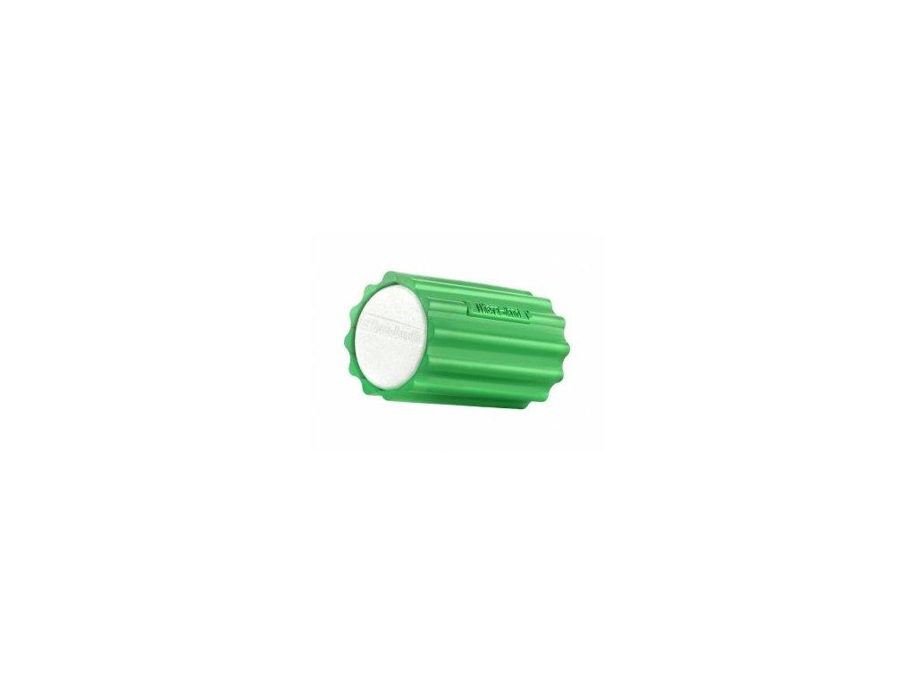 THERA-BAND masážny valec so zeleným obalom, tvrdý