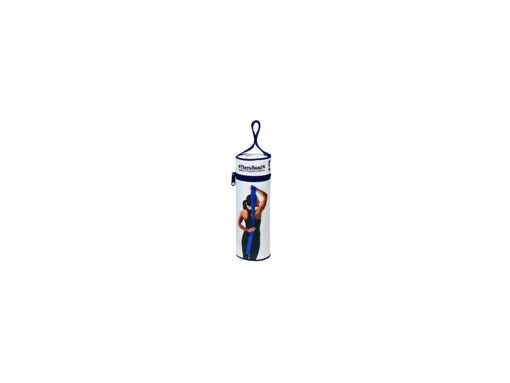 THERA-BAND posilňovacia guma 2,5 m s obalom, modrá, extra silná