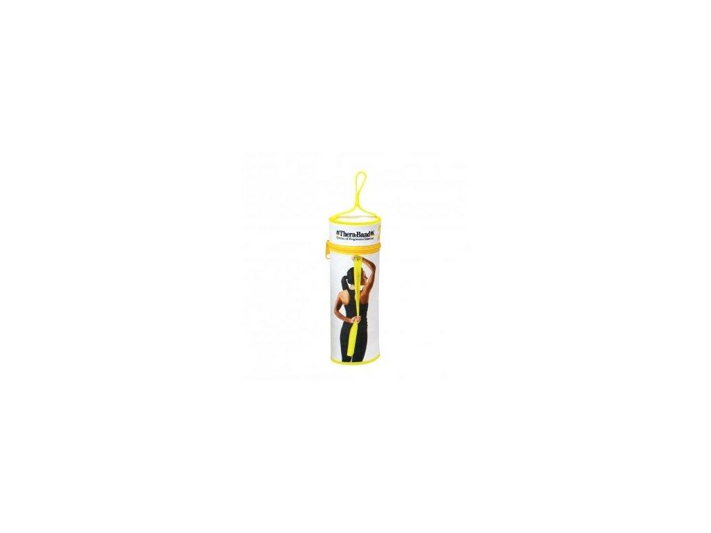 THERA-BAND posilňovacia guma 2,5 m s obalom, žltá, slabá