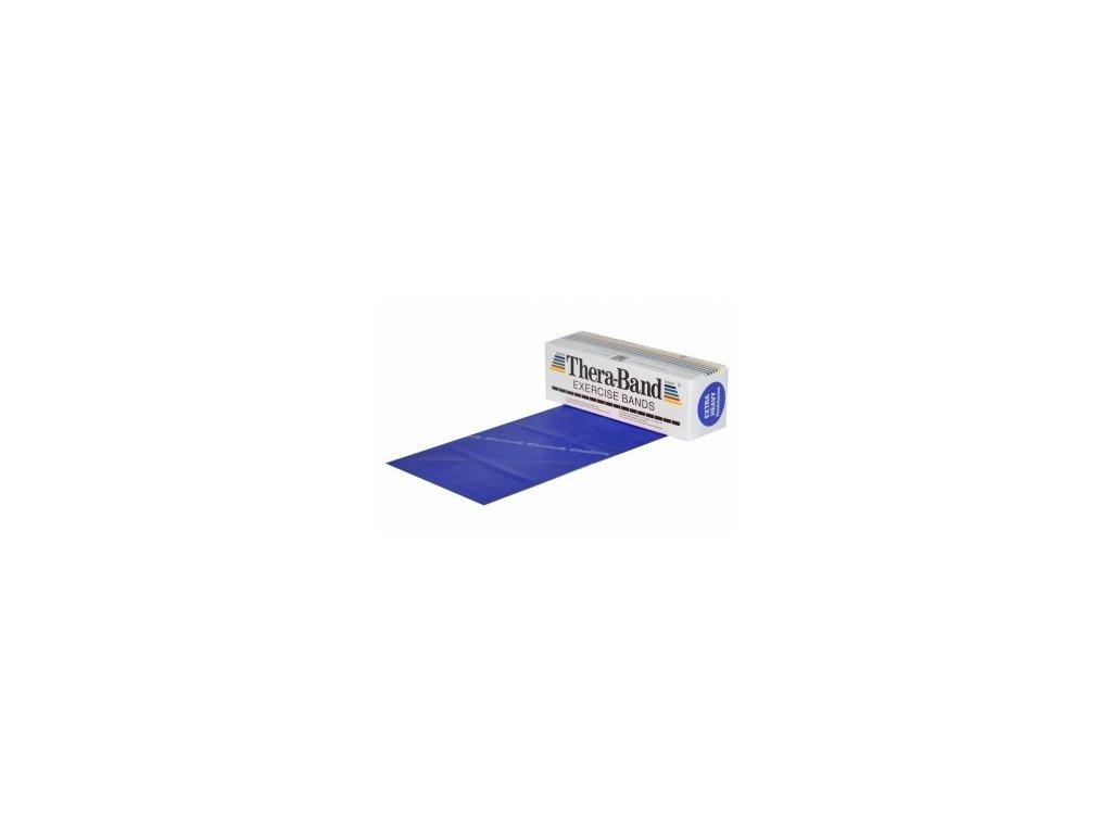 THERA-BAND posilňovacia guma 5,5 m, modrá, extra silná