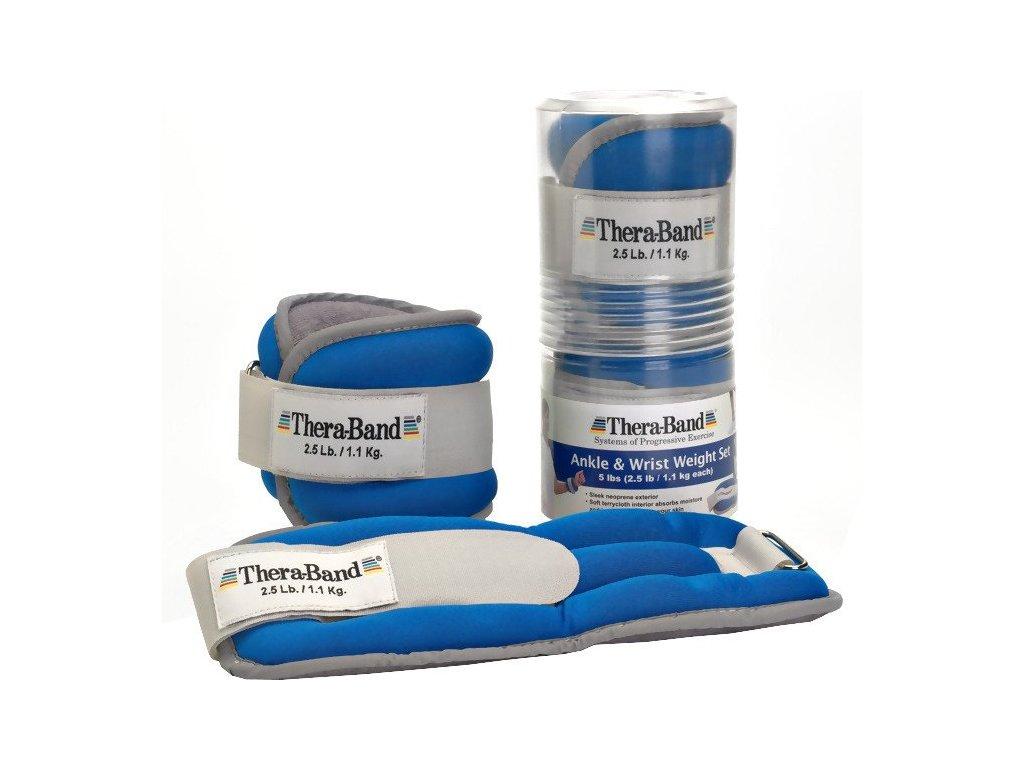 THERA-BAND set tréningových závaží, 1,1kg, modrý