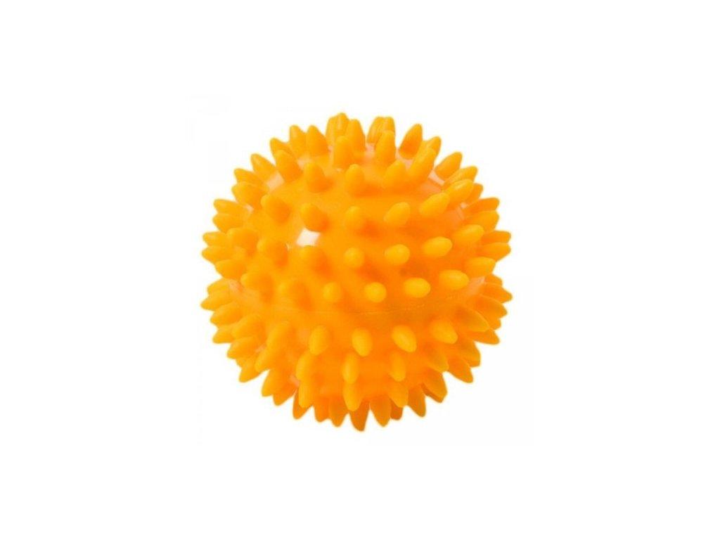 THERA BAND masážna loptička ježko, 6 cm, oranžový