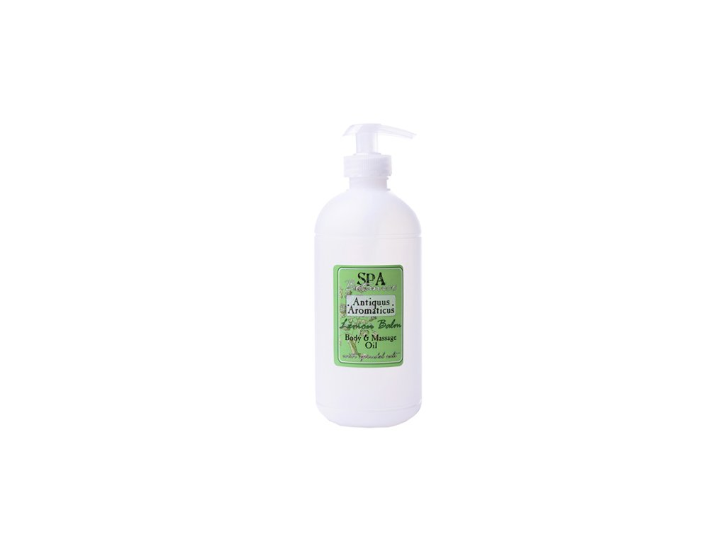 Botanico Spa Antiquus aromatický masážní olej medovkový 500ml