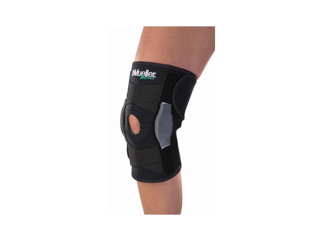 Mueller Green, Adjustable Hinged Knee Brace, ortéza na koleno, uni