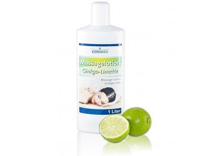cosiMed masážna emulzia Ginkgo-Limetka -1000 ml