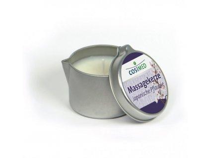cosiMed masážna sviečka Japonská slivka - 40 g