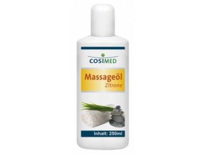 cosiMed masážny olej Citrón - 250 ml